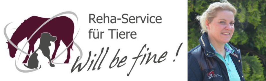 Will be fine! Ihr Reha-Service für Tiere